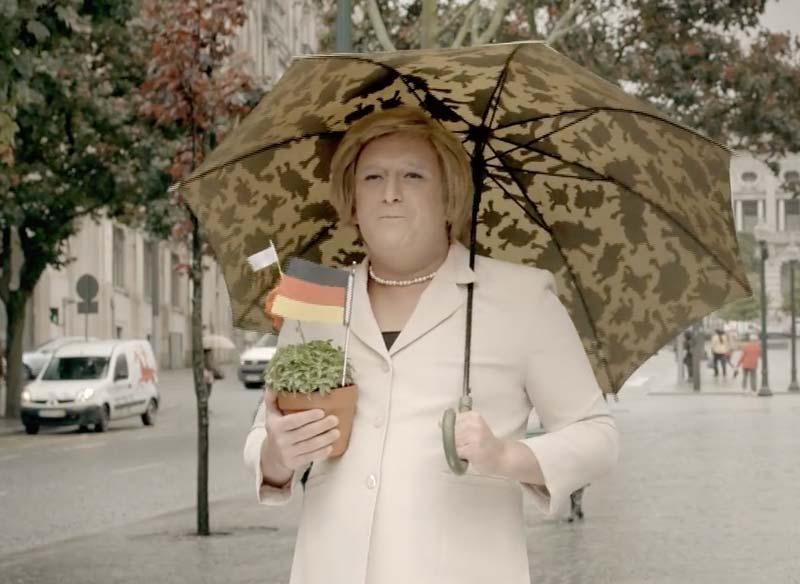 Super Bock Angela Merkel